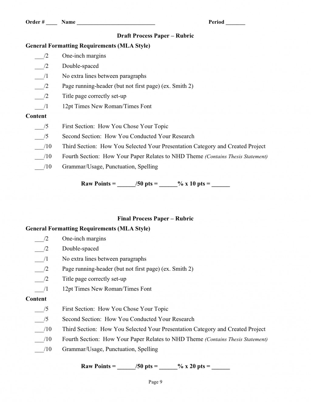 002 Essay Example Process Outline And Procedure Processpaperdirections 2011 Fantastic Template Pdf Large