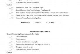 002 Essay Example Process Outline And Procedure Processpaperdirections 2011 Fantastic Template Pdf