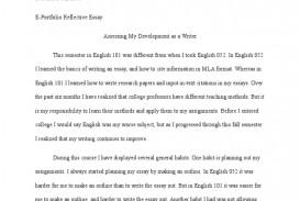 002 Essay Example Reflective English Marvelous 101