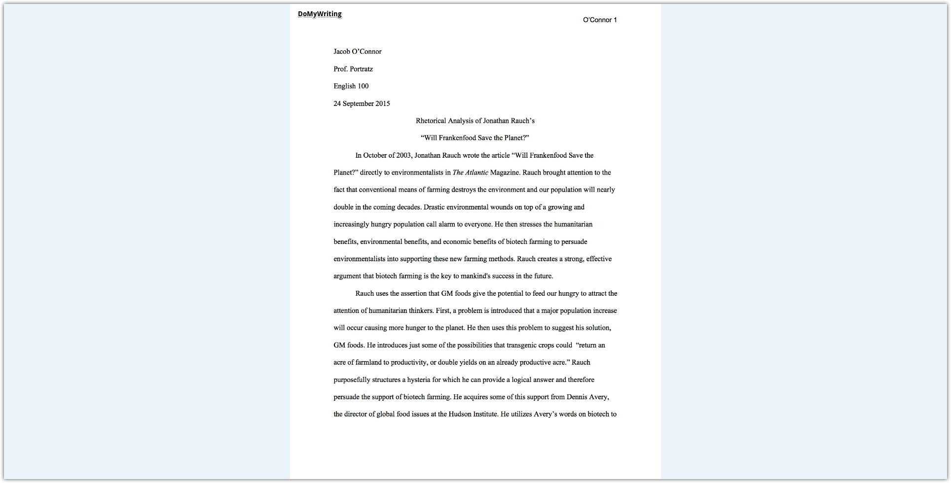 002 Essay Example Rhetorical Analysis Breathtaking Meaning Ap English Device Outline Full