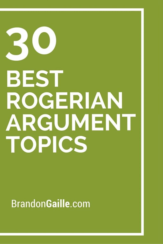 002 Essay Example Rogerian Argument Topics Formidable Topic Ideas Large