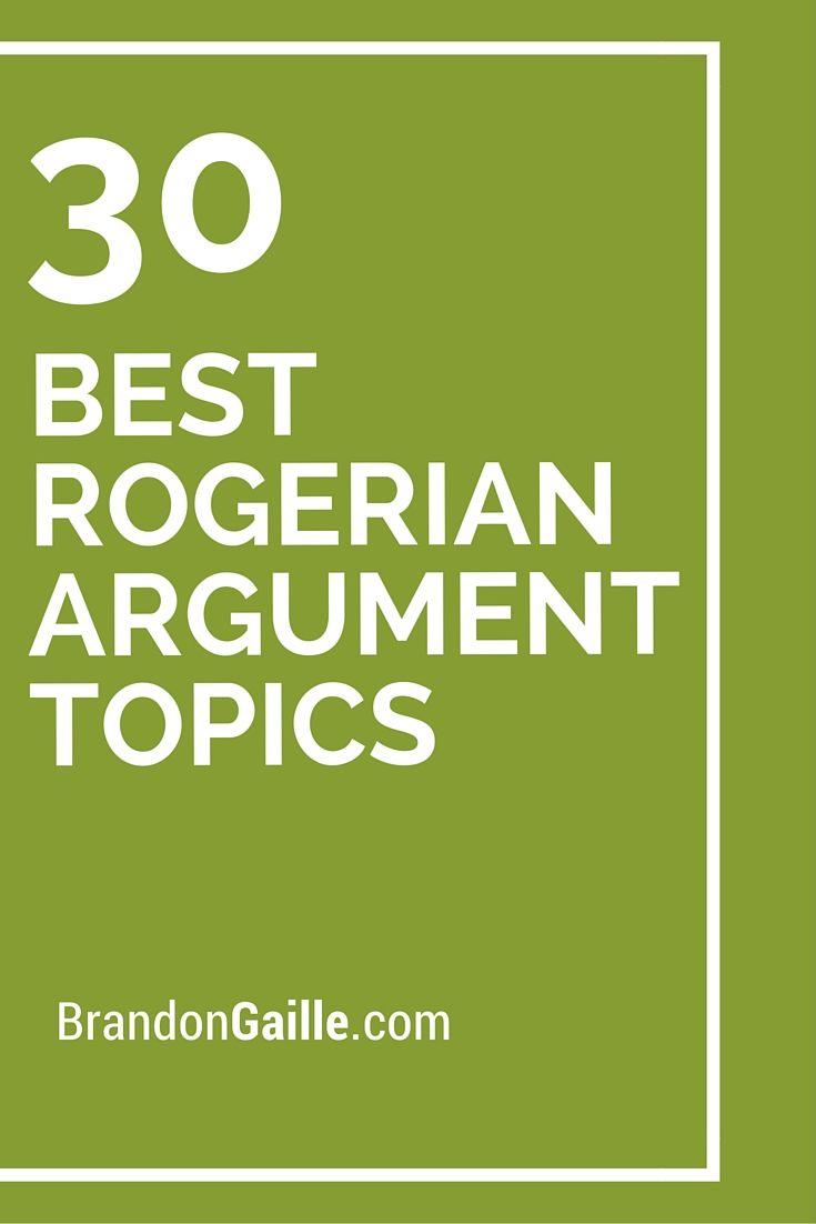 002 Essay Example Rogerian Argument Topics Formidable Topic Ideas Full