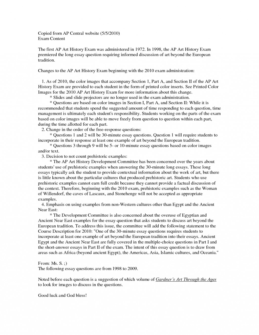 002 Essay Example Sample Of Art History Writing L Beautiful Introduction Pdf A Level Large