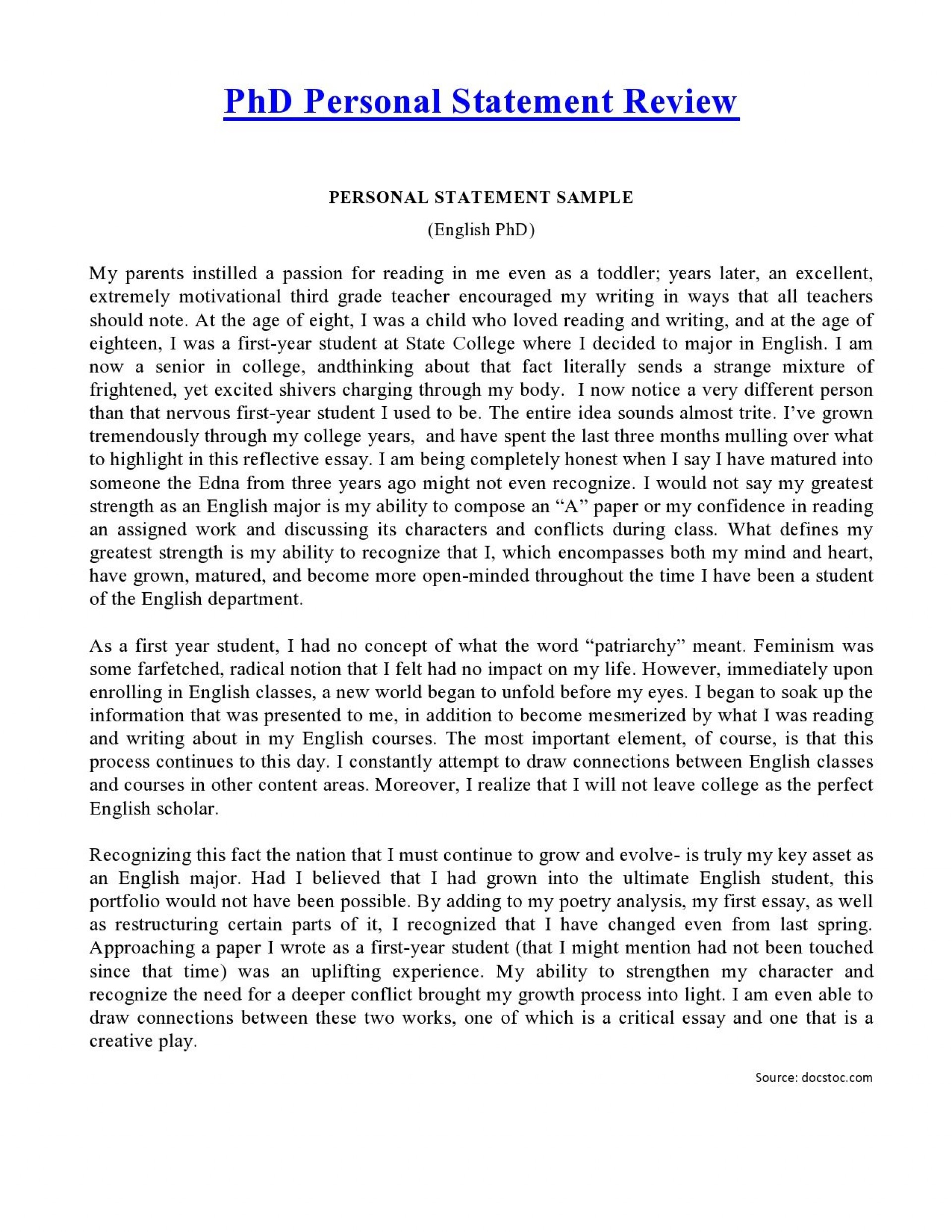 002 Essay Example Social Work Personal Rare Statement 1920