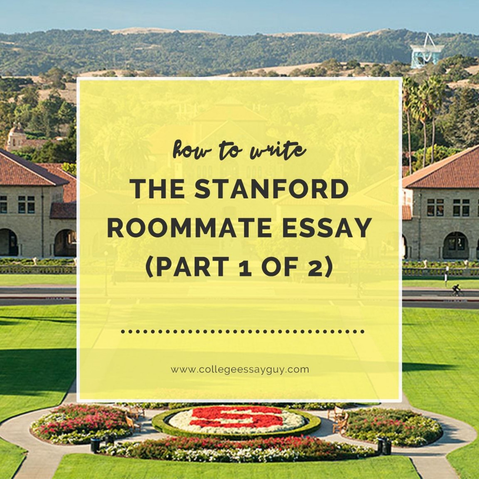 002 Essay Example Stanford Stunning Roommate College Confidential Ocean 1920