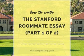 002 Essay Example Stanford Stunning Roommate Accepted Successful Ocean