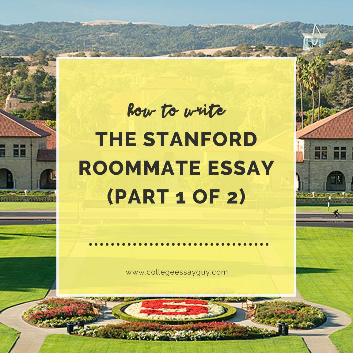 002 Essay Example Stanford Stunning Roommate College Confidential Ocean Full