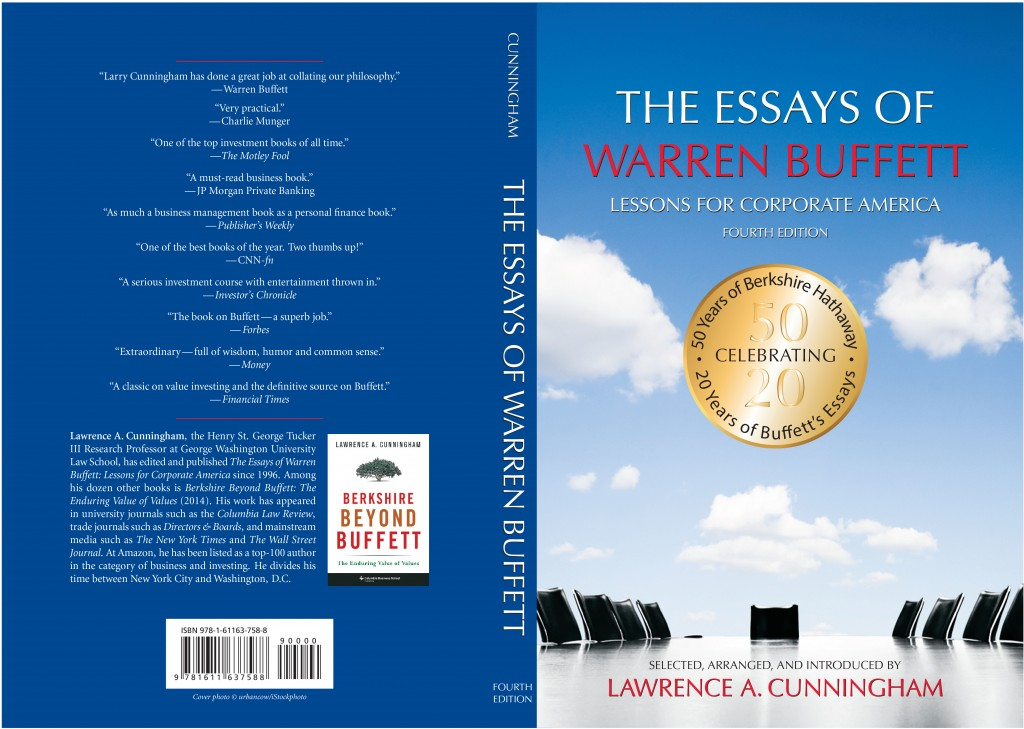 002 Essay Example The Essays Of Warren Buffett Lessons For Corporate Remarkable America Third Edition 3rd Second Pdf Audio Book Large