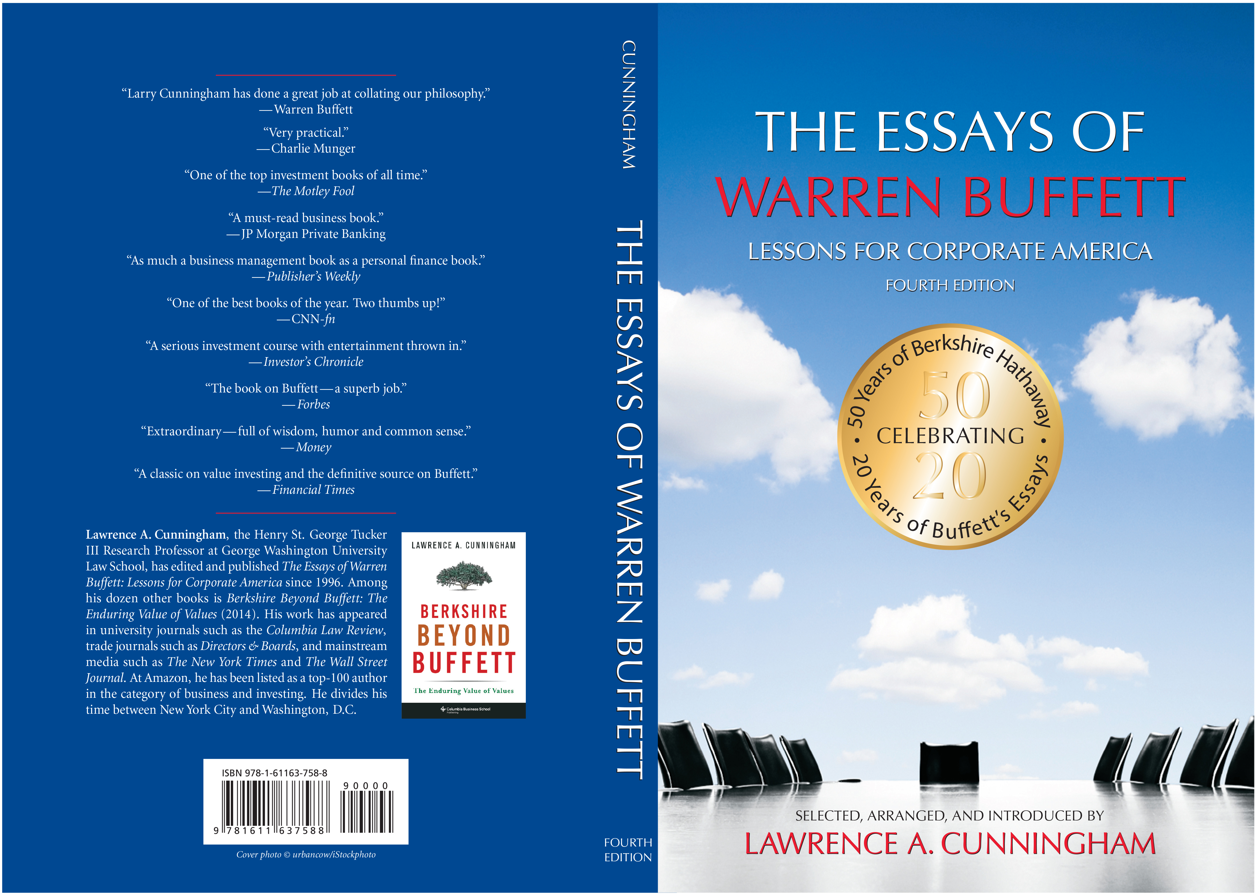 002 Essay Example The Essays Of Warren Buffett Lessons For Corporate Remarkable America Third Edition 3rd Second Pdf Audio Book Full