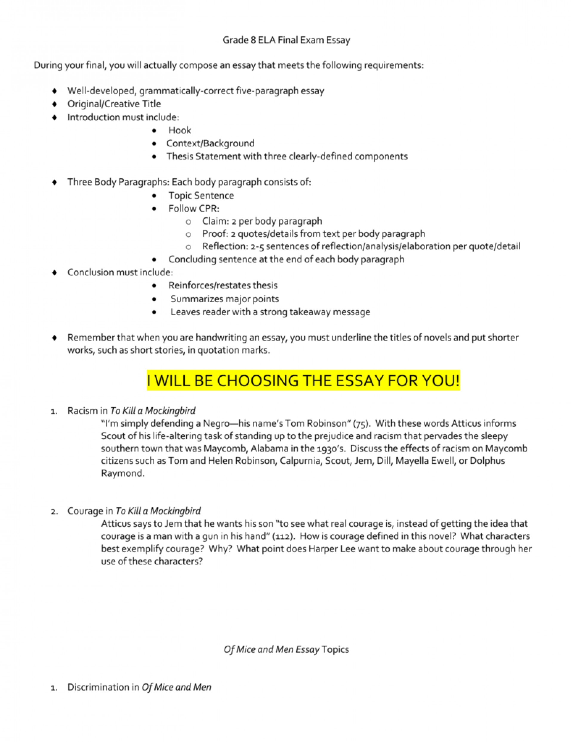 002 Essay Example To Kill Mockingbird Topics 008008940 1 Stunning A Writing Prompts By Chapter Research Paper Pdf 1920