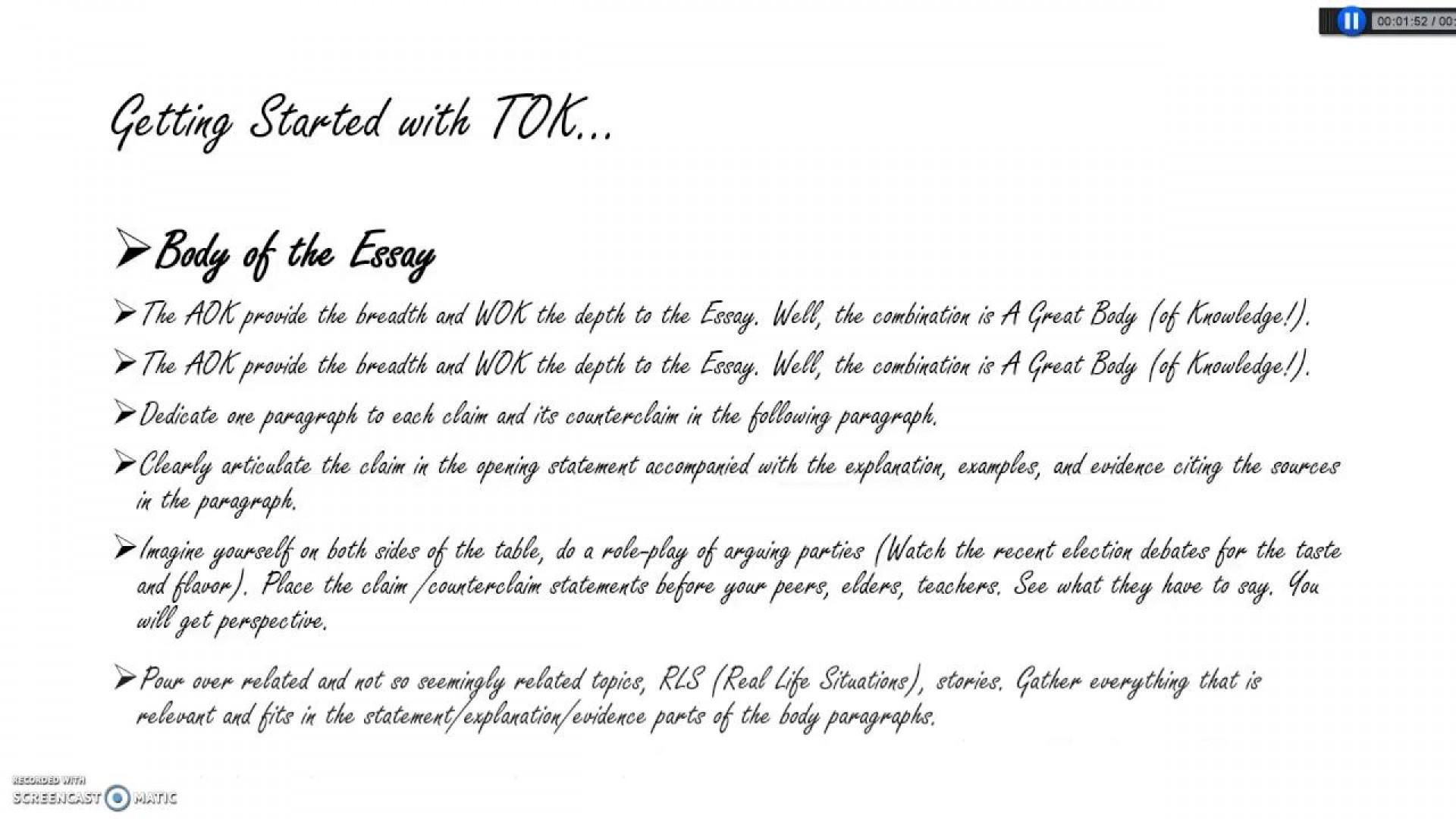 002 Essay Example Tok Sensational Examples To Avoid Rubric 2019 Titles Ideas 1920