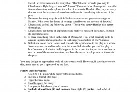 002 Essay Example Topics Hamlet Revenge Theme Madness L Awful High School Argumentative