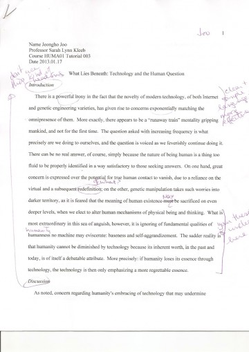 002 Essay Example What Does It Mean To Human Phenomenal Be Pdf Religion Anthropology 360