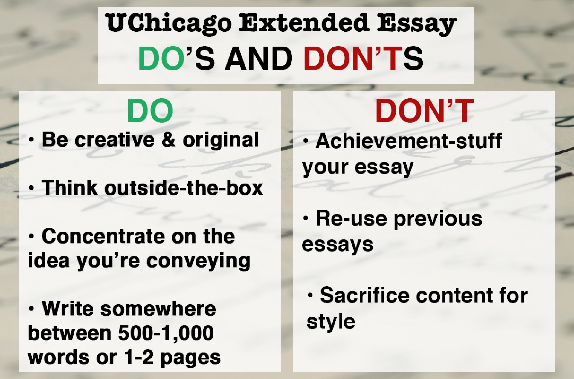 002 Essay Example Why Fearsome Uchicago Length Examples 1920