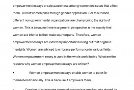002 Essay Example Women Empowerment Exceptional Pdf Gender Equality And Women's