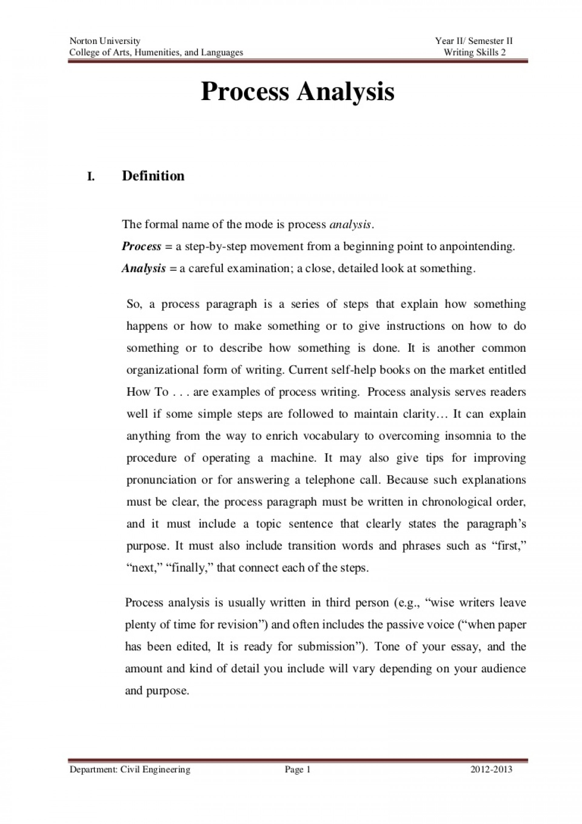 002 Essay Exampleanalysisparagraph Phpapp01 Thumbnail How To Write Top A Process Ielts Thesis Statement For Analysis 1920