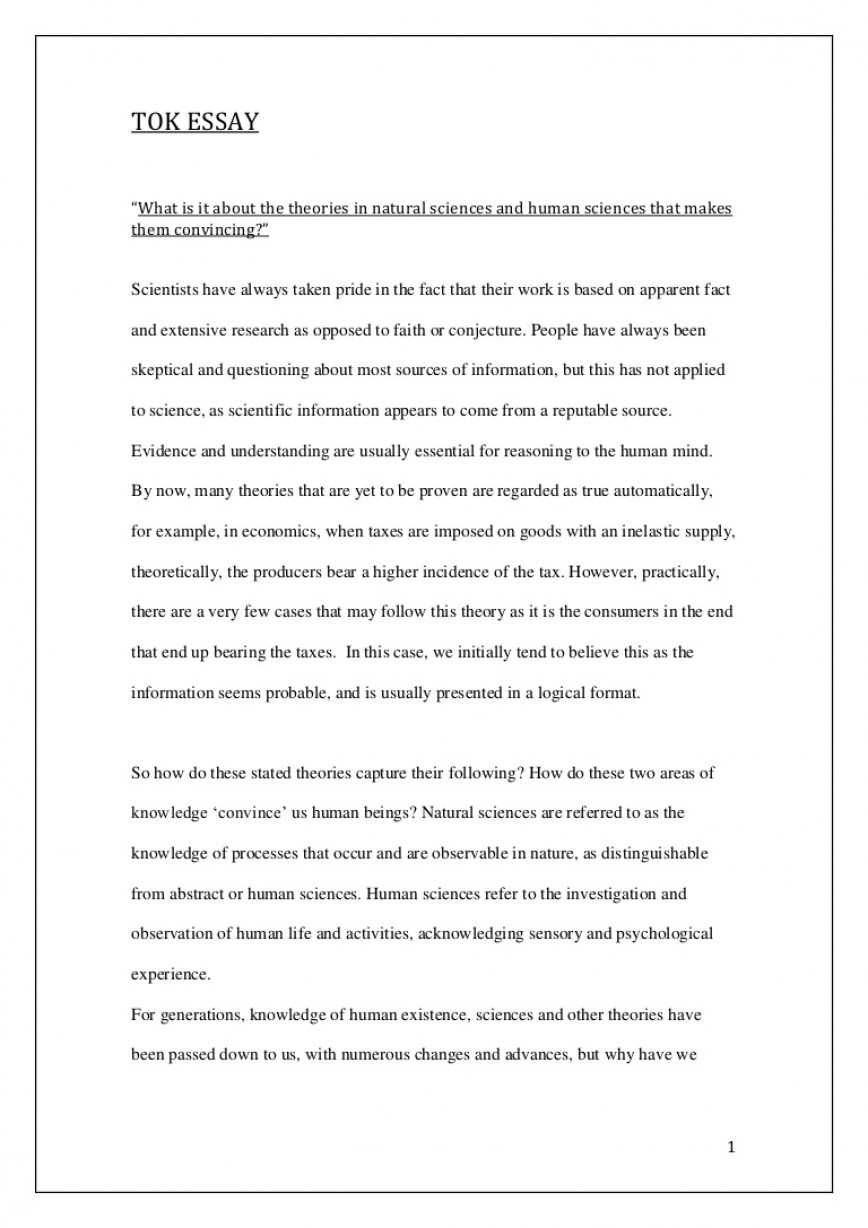 002 Essay Exampleessayfinal Phpapp02 Thumbnail How To Write Wondrous A Tok Structure In One Night Plan