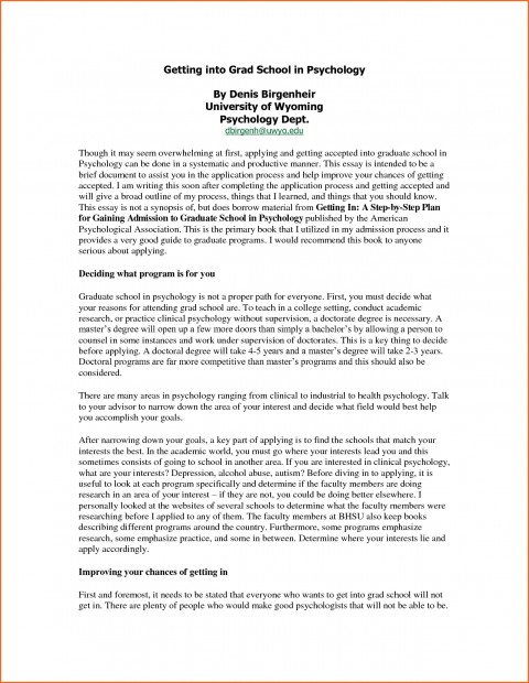 002 Essay For Graduate Admission Example College Application Examples Surprising Nursing School Personal 480