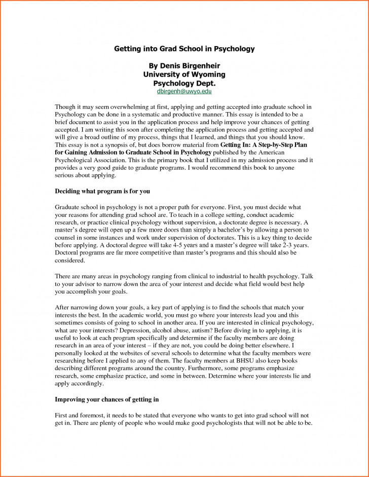 002 Essay For Graduate Admission Example College Application Examples Surprising Nursing School Personal 728