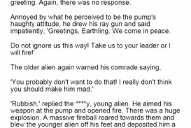 002 Essay On Aliens In Earth Marvelous