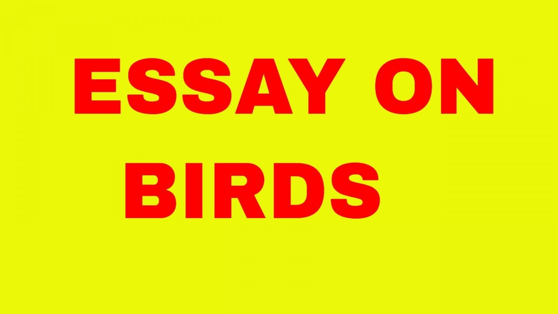 002 Essay On Birds Example Incredible Nest In Telugu Kannada And Animals 1920