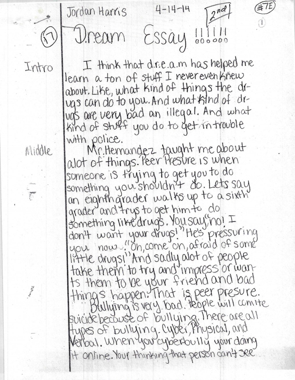 002 Essay On Bullying Example Harris Page1 Amazing The Cause And Effect In School Of Cyberbullying Large