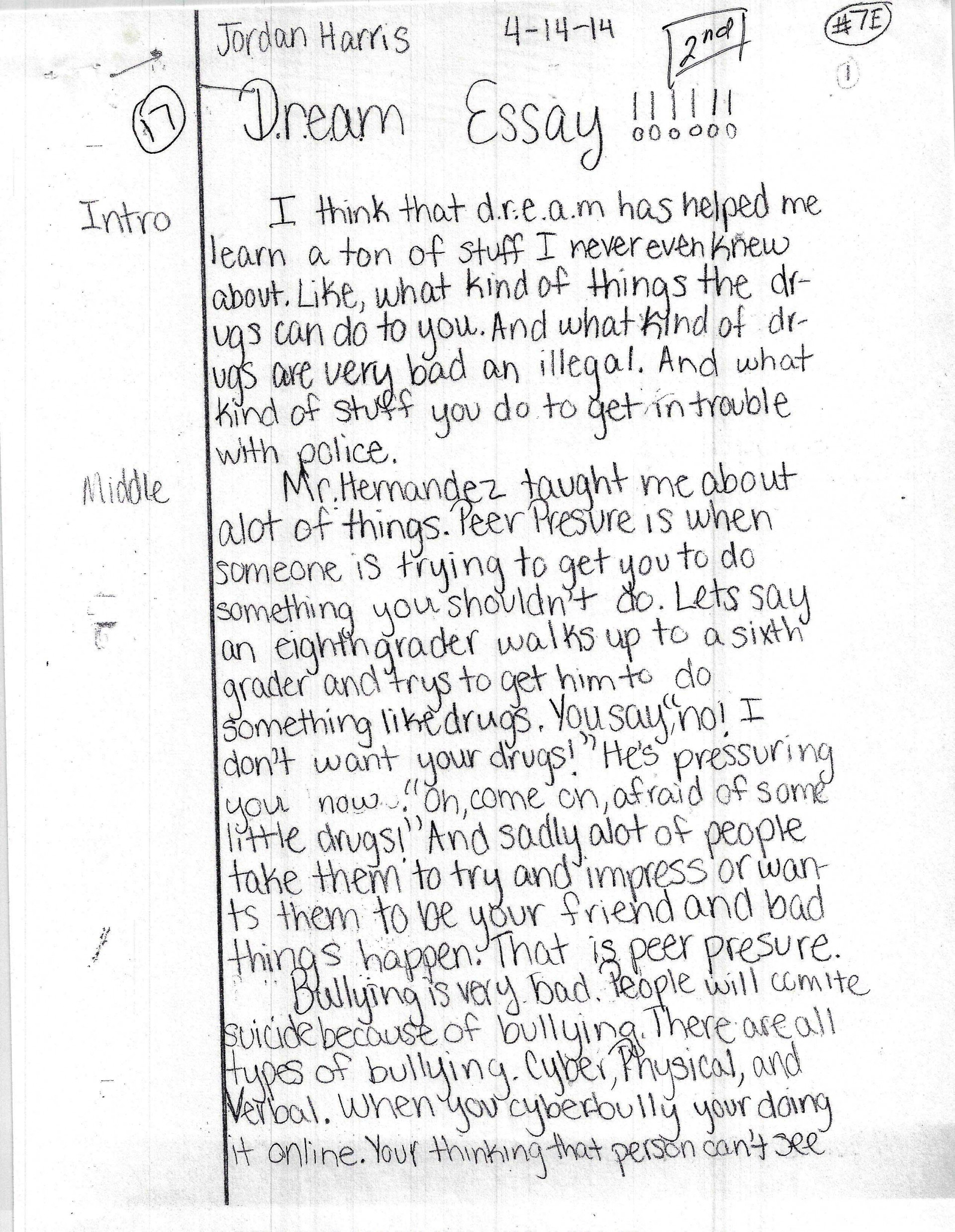 002 Essay On Bullying Example Harris Page1 Amazing The Cause And Effect In School Of Cyberbullying 1920