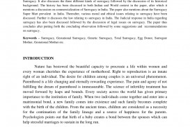 002 Essay On Surrogacy In India Example Awful 320