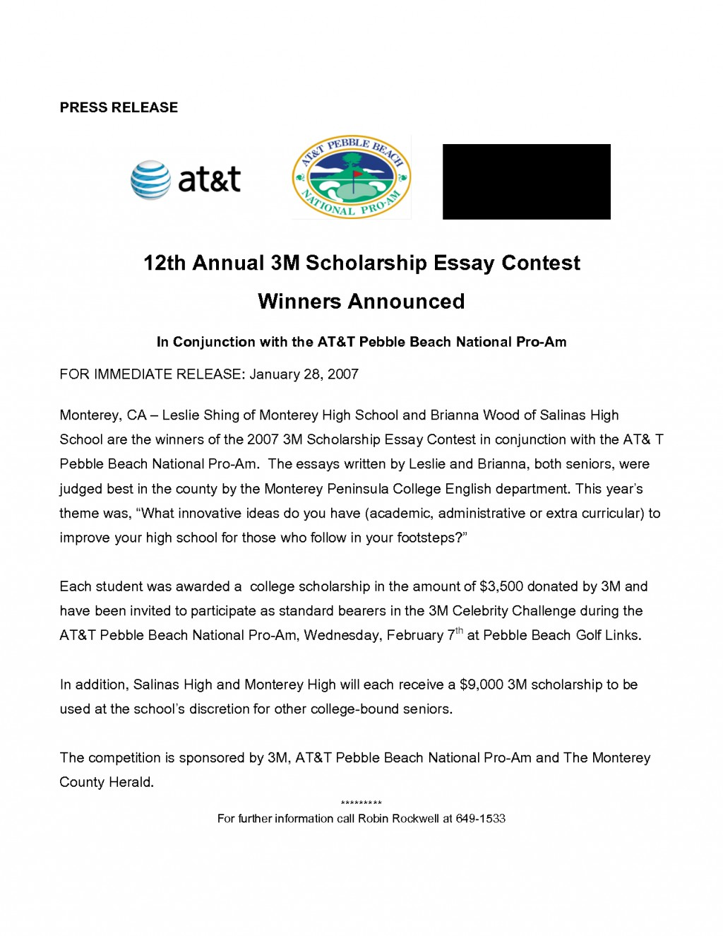 002 Essay Scholarships For High School Students Example Scholarship Application Help Contests Juniors 3 No Incredible Free Writing Class Of 2020 Large