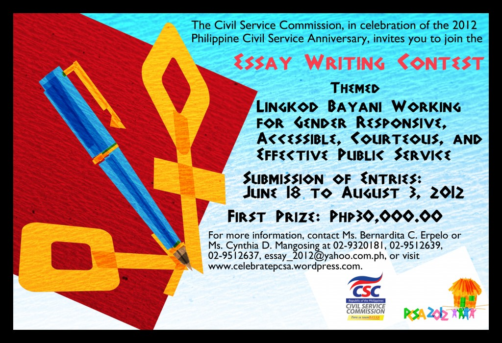 002 Essay Writing Contest 2012pcsa Flyer Kubo Essay3 Incredible Free Contests 2018 International Competitions For High School Students India Large