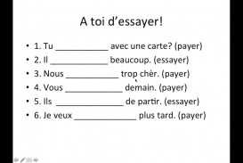 002 Essayer French Essay Example Beautiful Future Verb Definition