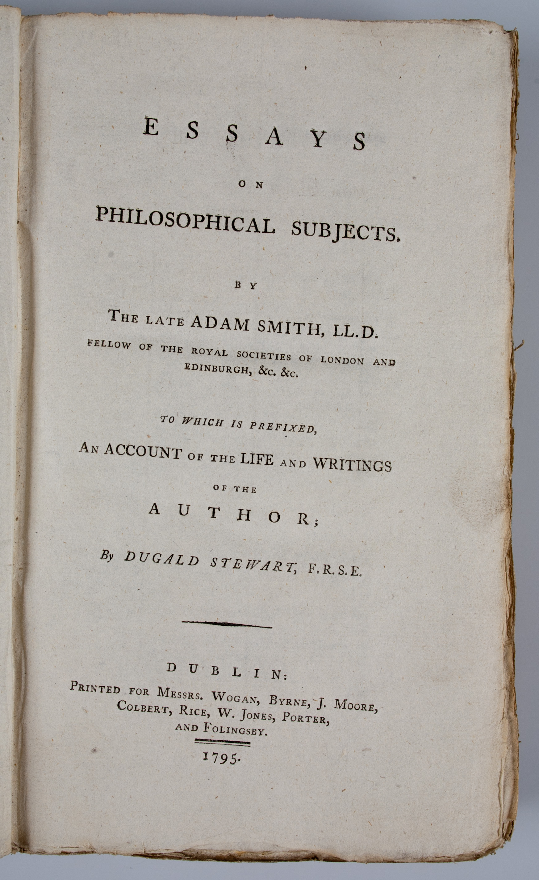 002 Essays On Philosophical Subjects Essay Example 54130 02 Best Smith Pdf Full