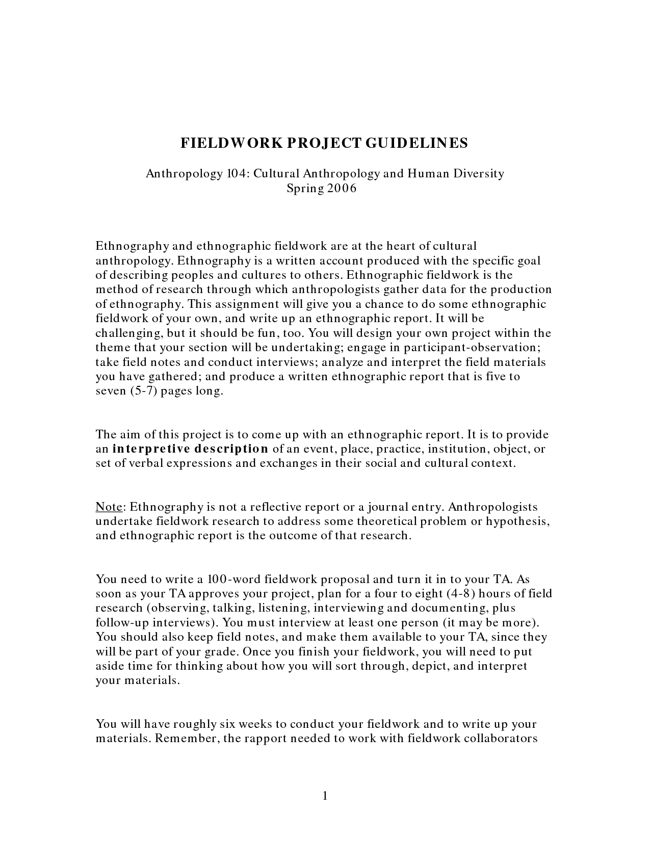 002 Ethnographic Essayss Essay L Amazing Outline Format Samples Full