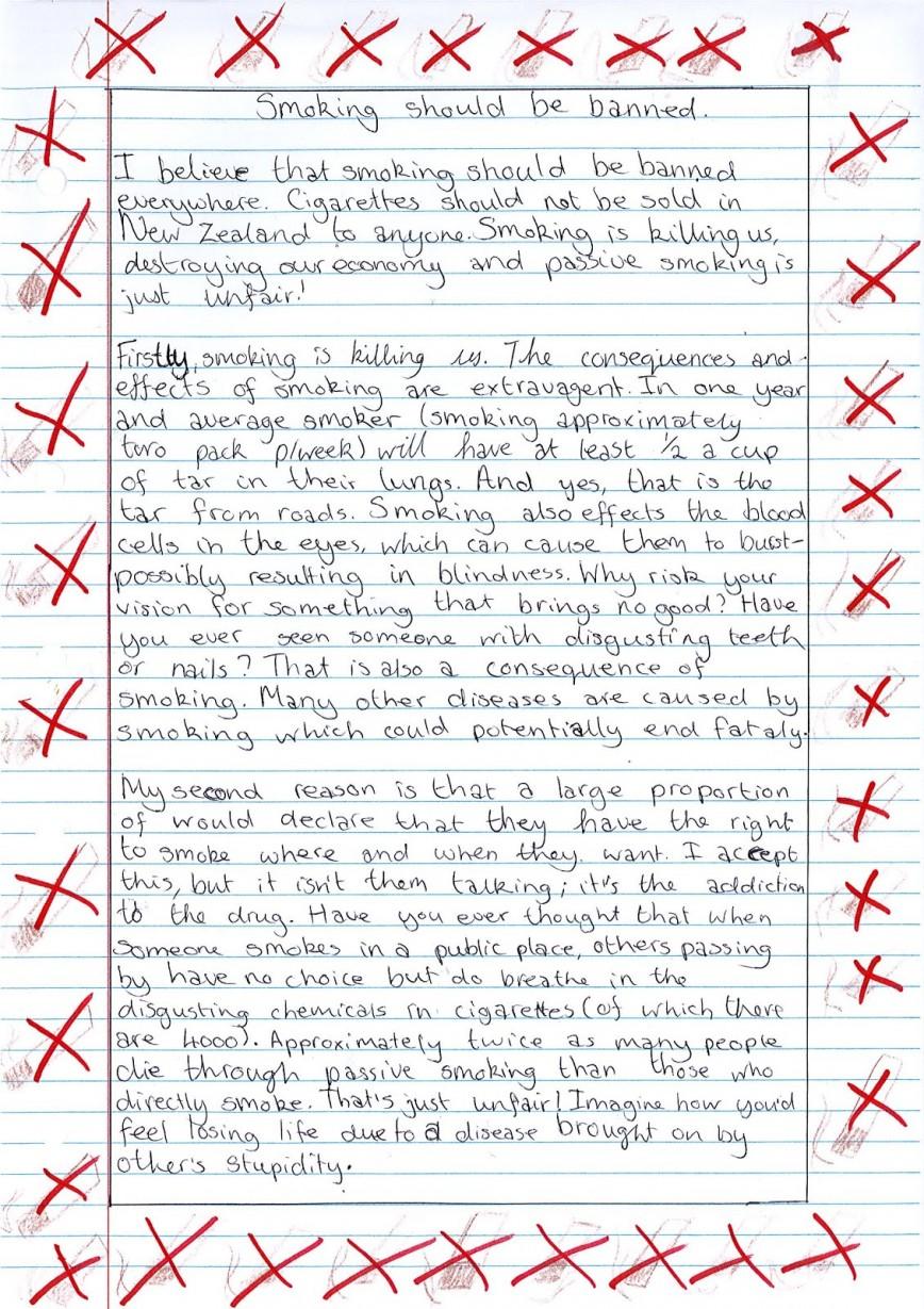002 Examination Should Abolished Essay Example Smoklng1 Surprising Be Public At School Level Not 868