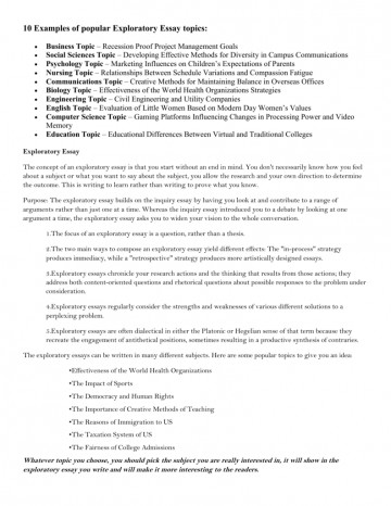 002 Exploratory Essay Topics 006903021 1 Awful About Technology For College Medicine 360