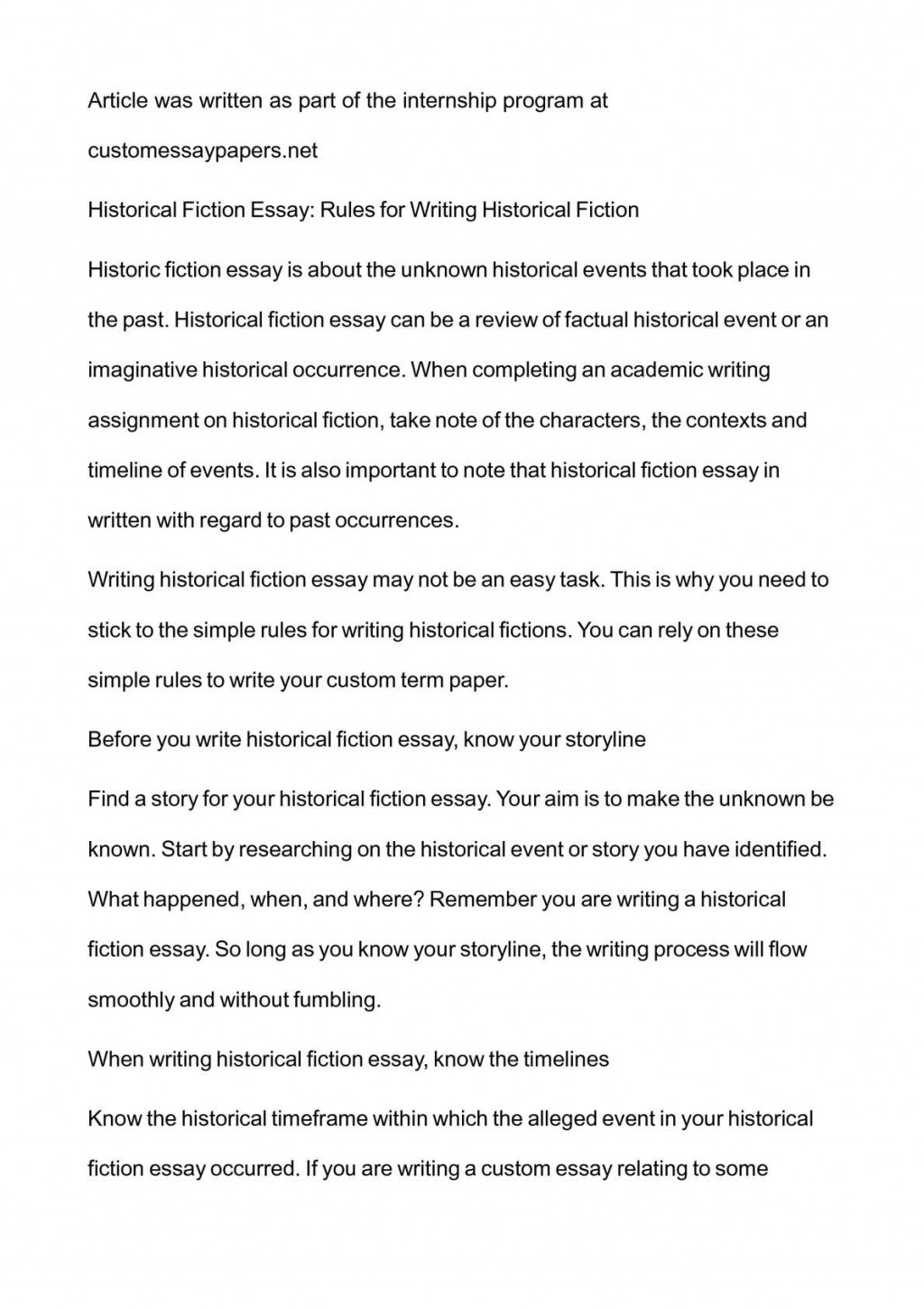 002 Fiction Essay Example Imposing English 102 Writing Prompts For Middle School High Large