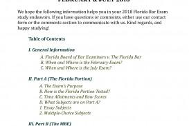 002 Florida Bar Essays Essay Exceptional July 2018 Exam 2017 Feb