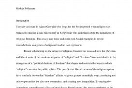 002 Freedom Of Religion Essay Example Beautiful Introduction In Malaysia