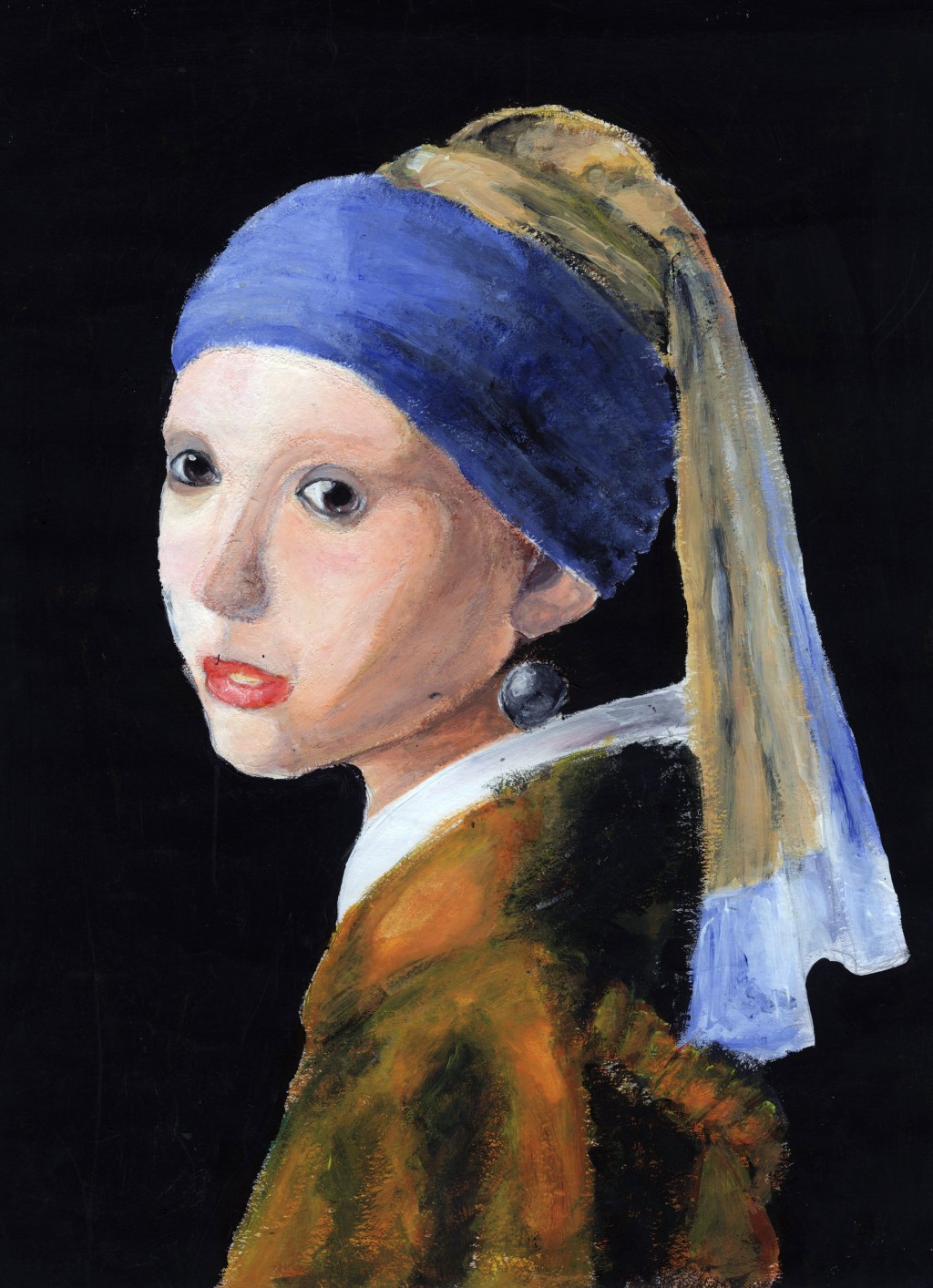 002 Girl With Pearl Earring Essay Example Outstanding A The Movie Film Review Large