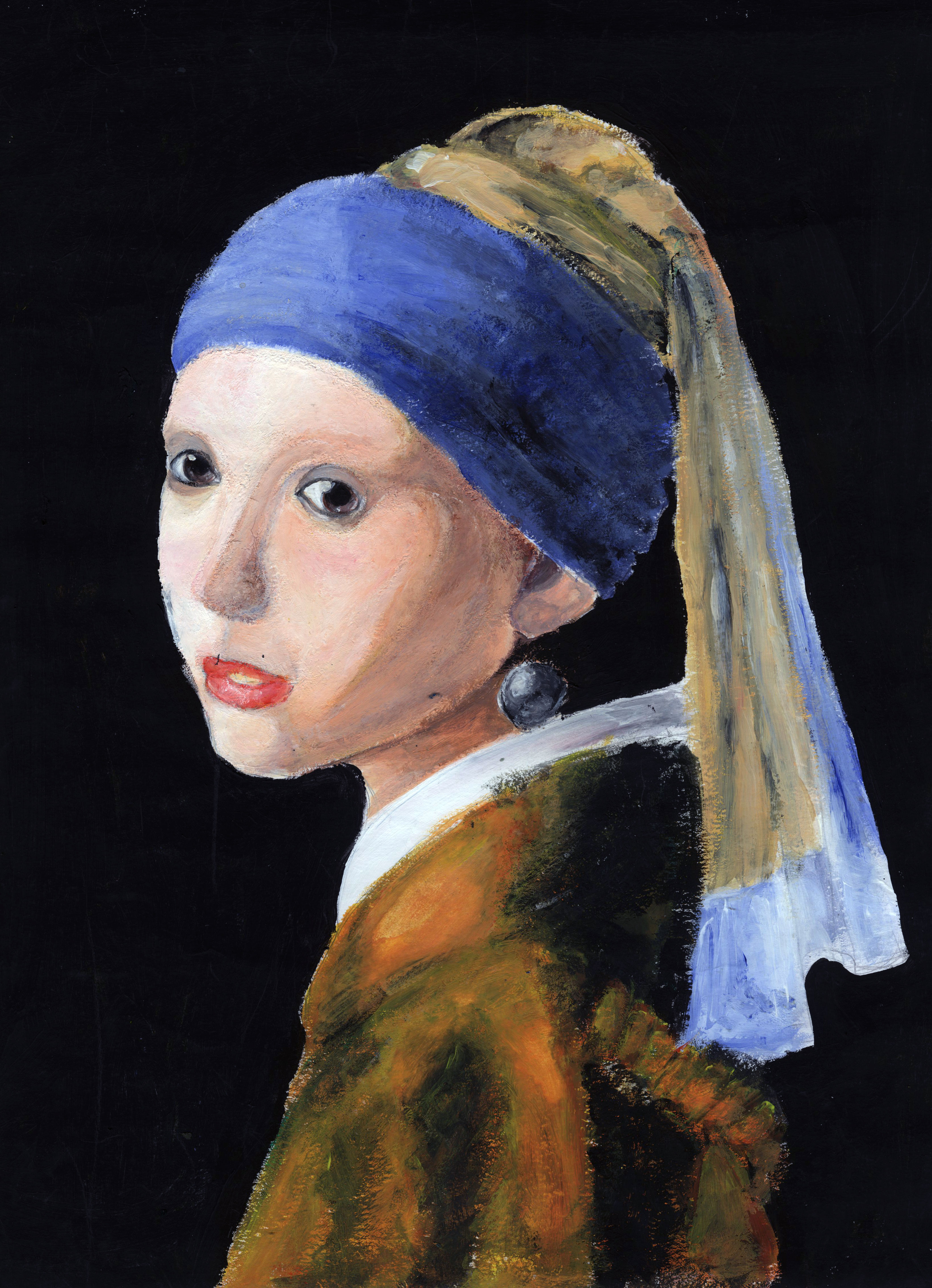 002 Girl With Pearl Earring Essay Example Outstanding A The Movie Film Review Full