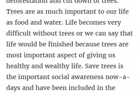 002 How Can We Save Trees Essay Marvelous To In Hindi Telugu
