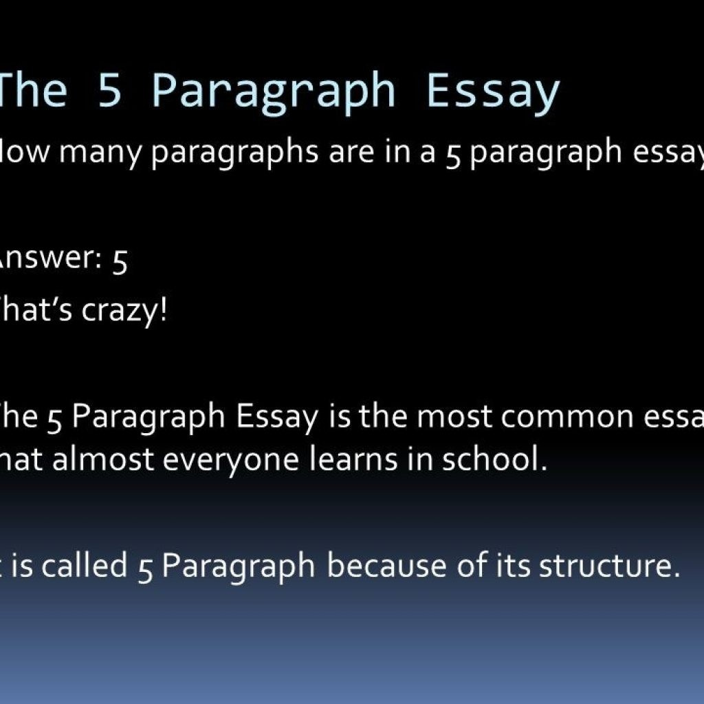 002 How Many Sentences Are In Paragraph For An Essay 2867177336 Is Wondrous A College 5 Each Of Large