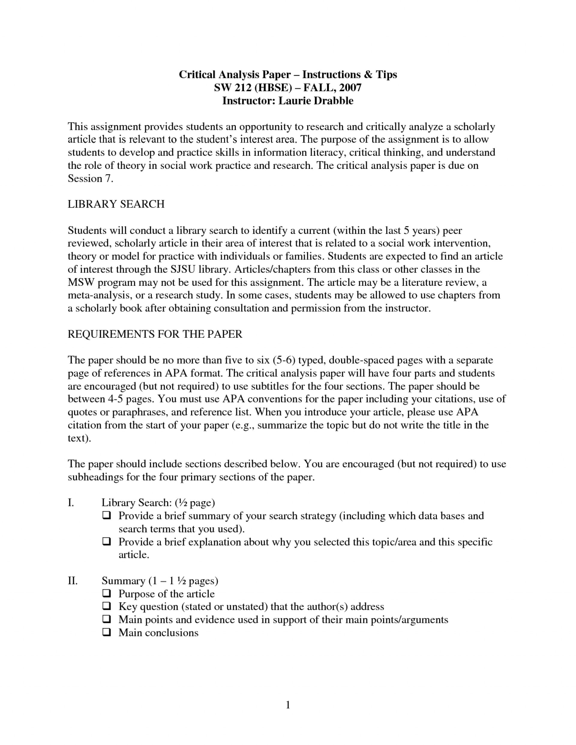 002 How To Begin Critical Essay Example Analysis Paper Literary Research Write Movie Review Sample Qaky0 Film Evaluation Amazing A Structure Response 1920