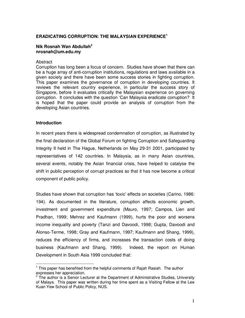 002 How To Eradicate Corruption Essay Largepreview Unique On In Nigeria Tamil Full