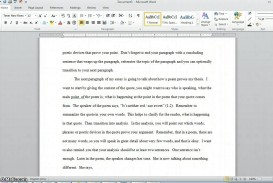 002 How To Quote Poem In An Essay Example Best A Lines From Mla Chicago Style