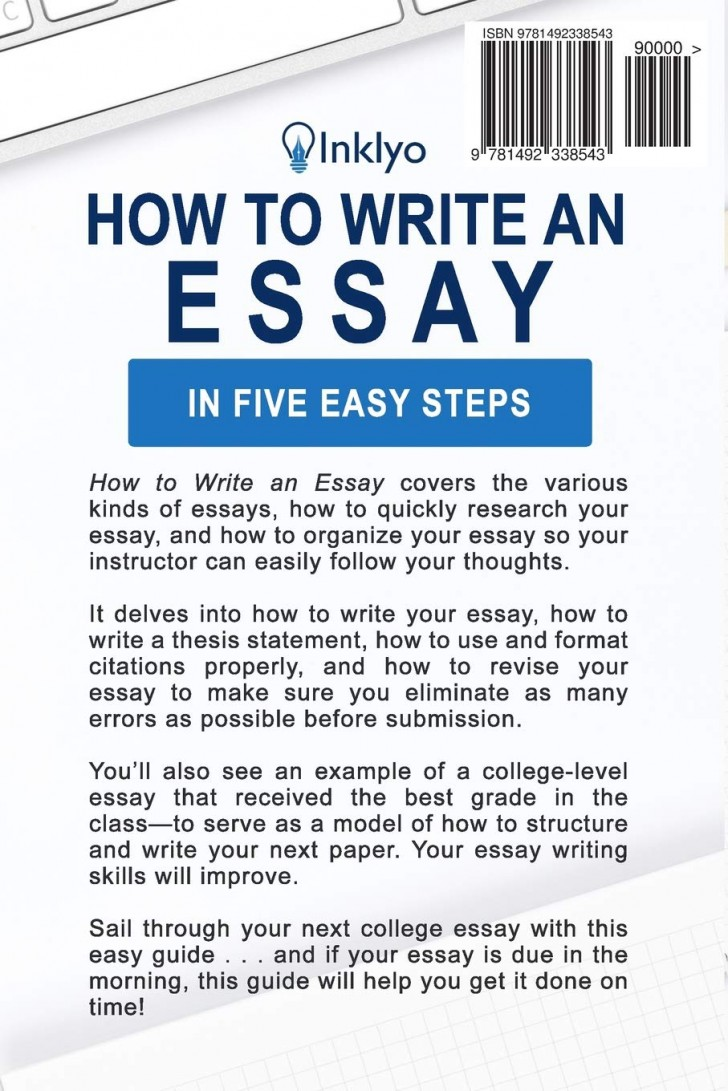002 How To Write An Essay Example Shocking About Yourself Without Using I For College English Introduction 728