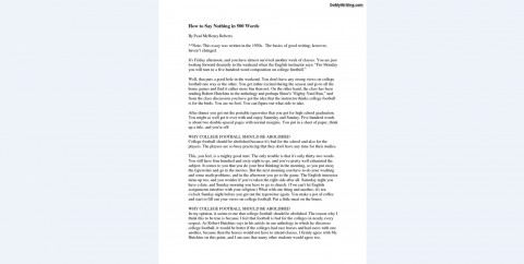 002 How To Write Word Essay Double Spaced Impressive A 500 Plan In Apa Format Long 480