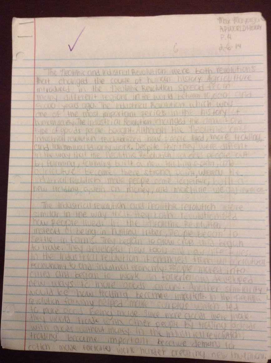 002 Image2010 Neolithic Revolution Essay Fearsome Agricultural Thematic And Industrial 868