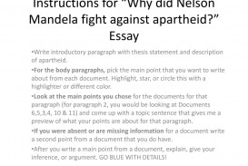 002 Instructions For Why Did Nelson Mandela Fight Against Apartheid Essay L Archaicawful Questions Research Paper Topics