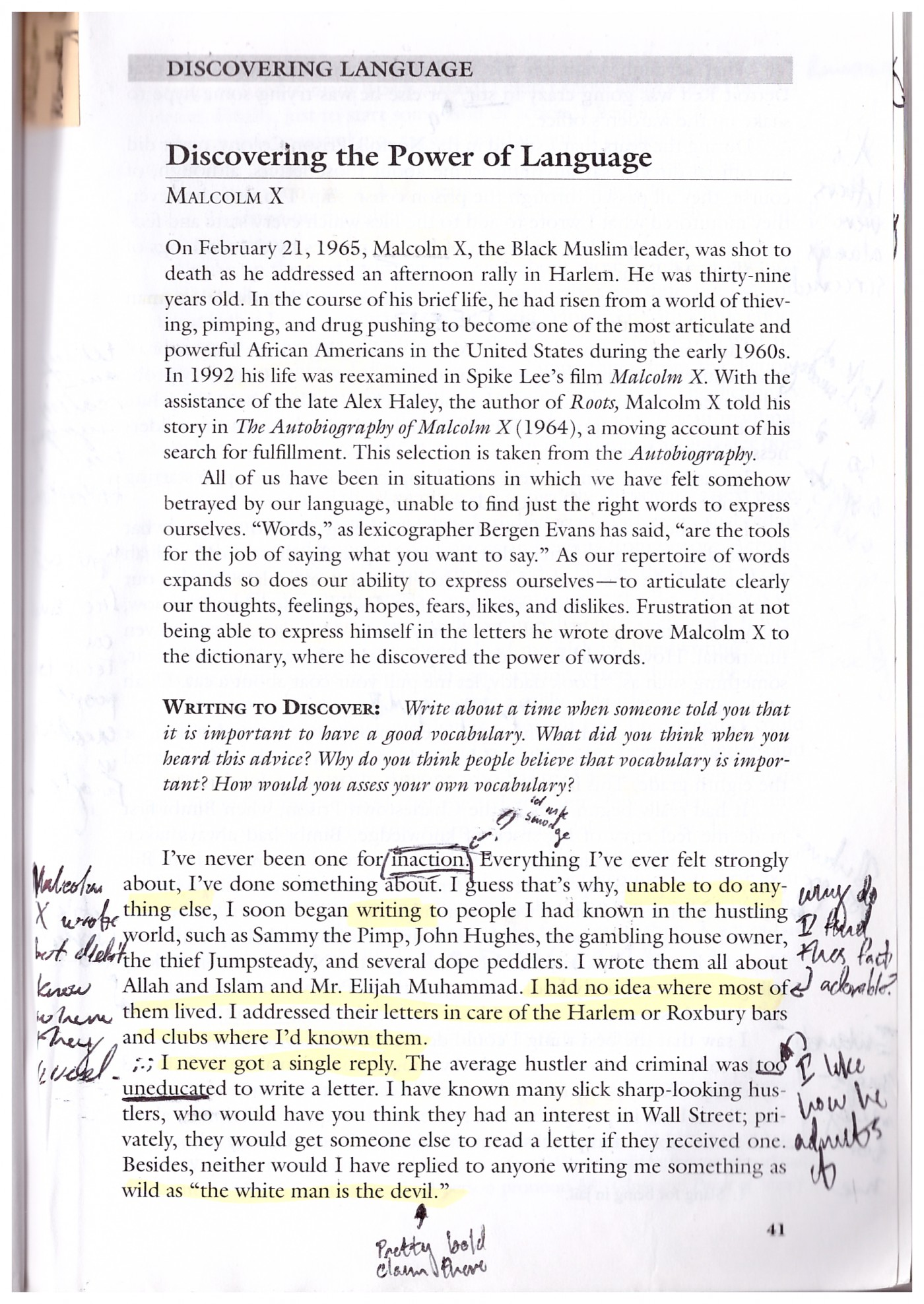 002 Malcolm X Essay Example Page Stunning Learning To Read Questions Summary 1400